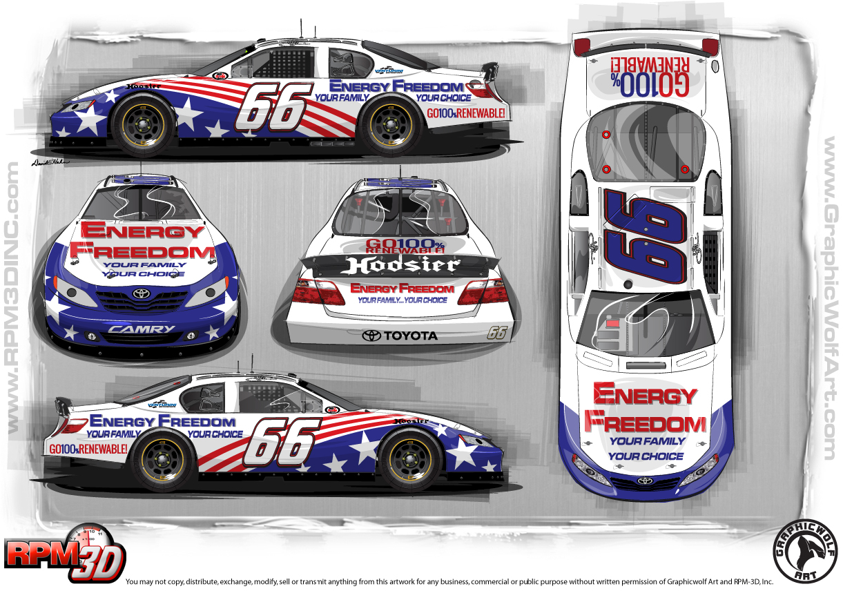 RPM3D Inc The Leader In 3D Motorsports Graphics – Race Car Sponsorship Proposal Template